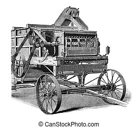 Agricultural machinery, 1897