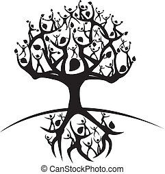 tree of life - illustration of the tree of life