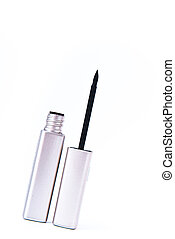 eyeliner - open eyeliner on white background