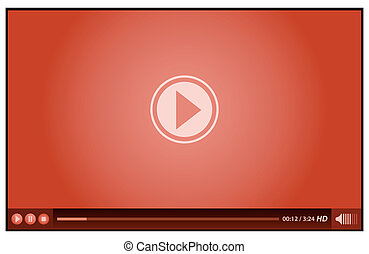 red video player