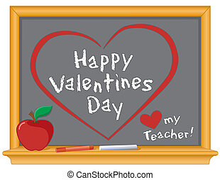 Happy Valentines, Love My Teacher - Happy Valentines Day and...
