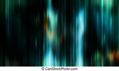 Blue Green Abstract Streaks Looping Animated Background