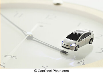 prius and clock
