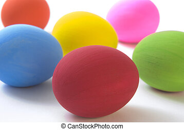 Easter Eggs - Colorful Easter Eggs