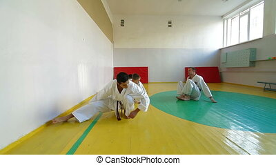 training martial arts