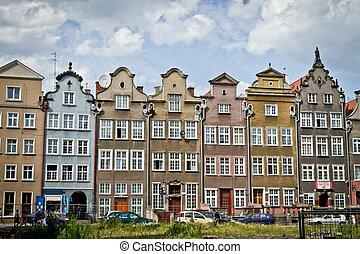 historic city of Gdansk