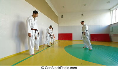 training martial arts - Martial arts instructor training...