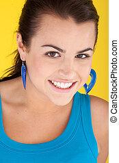 Smiling Glamorous Woman