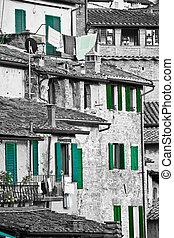 histórico, arquitetura,  Siena