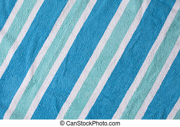 Cool Beach Towel Background - Cool color beach towel...