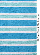 Used Beach Towel Background - Worn beach towel background...