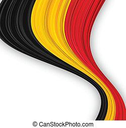 Belgian flag.