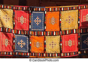 Berbère,  patchwork, couverture