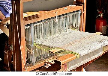 Weaving loom - An old weaving loom used in colonial times