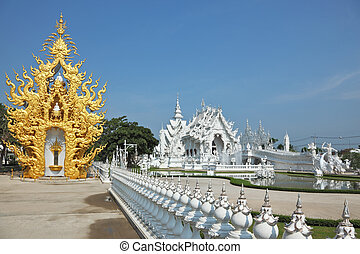 The white palace and gilded chapel