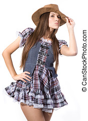 beautiful sexy country and western girl - very beautiful and...