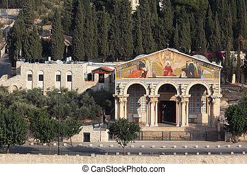 The Church on the Mount of Olives