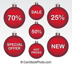 Sale Christmas ball