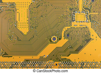 Abstract background with computer circuit board