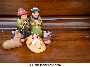 Christmas crib nativity