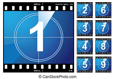 Film cell count down