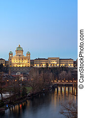 Federal Palace of Switzerland - The Swiss parliament...