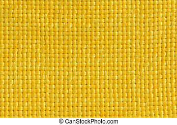Yellow fabric, for backgrounds or textures