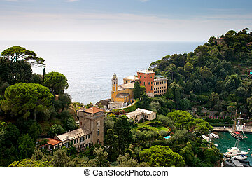 luxury villas near Portofino, Italy