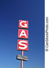 Abandoned Gas Station - Gladewater, TX - November 2011