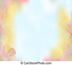 background with a delicate flower petals