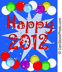 2012 new years poster