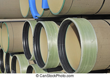 Plastic drainage pipes - Drainage pipes made of plastic....