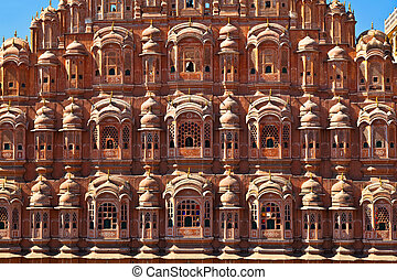 Hawa Mahal in Jaipur, Rajasthan, India - Hawa Mahal, the...