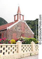 Wesleyan Holiness Church Saba Dutch Netherlands Antilles -...