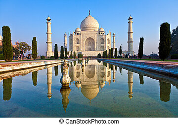 Taj Mahal in India  - Taj Mahal in India