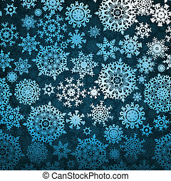 Christmas pattern snowflake background EPS 8 vector file...