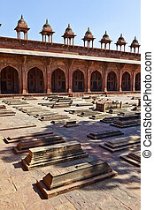 The Jama Masjid in Fatehpur Sikri is a mosque in Agra,...