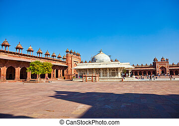 FATHEPUR SIKRI, INDIA NOVEMBER 17: Pilgrims visit the Jama...
