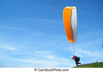 Paraglide - Taking off