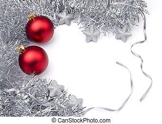 navidad, decoración, ornamento, nuevo, año,...