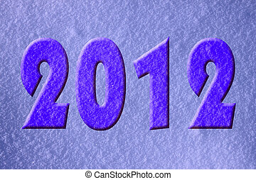new year 2012 holiday background