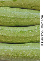 Courgettes zucchini - Detail of courgettes or zucchini...