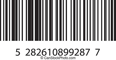 barcode - Vector illustration of barcode