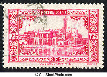 Admiralty Building - ALGERIA CIRCA 1941: stamp printed by...