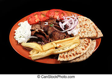 donner kebab meal