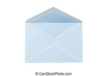 Mailing envelope isolated on white background.