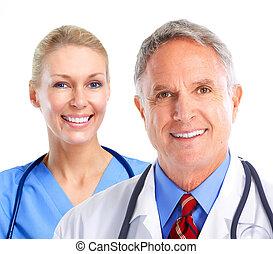 médico, Grupo, doutores