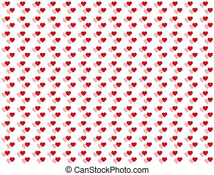 Seamless Pattern, Tiny Hearts