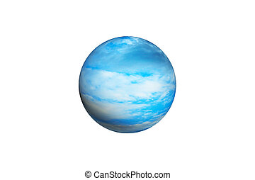 abstract sphere with pattern and texture as background