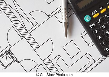 architectural plan - Architectural drawings and tools....